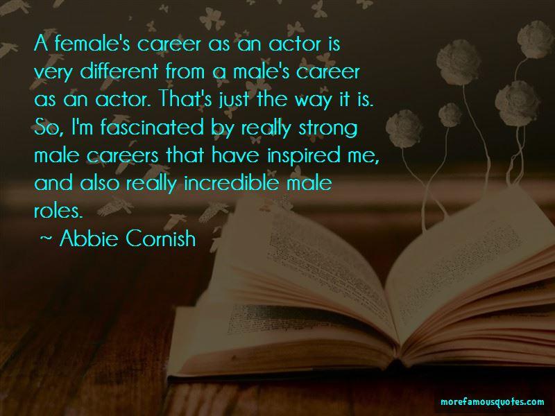 Abbie Cornish Quotes Pictures 3