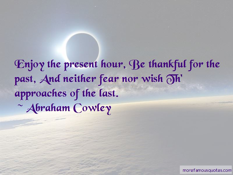 Abraham Cowley Quotes Pictures 2