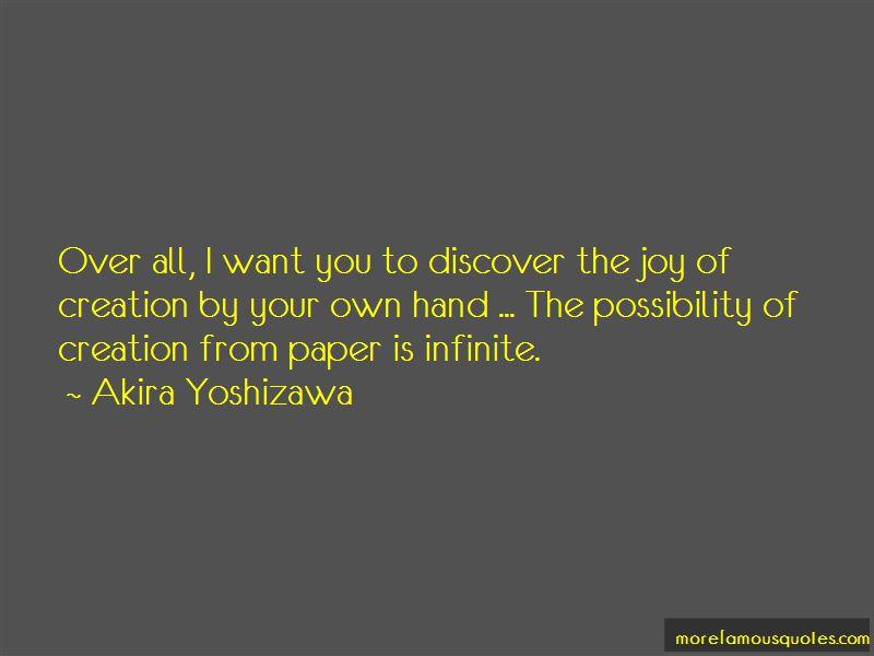 Akira Yoshizawa Quotes Pictures 2