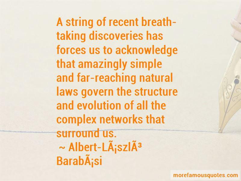 Albert-Laszlo Barabasi Quotes