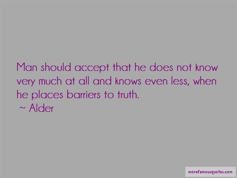 Alder Quotes