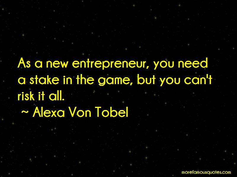 Alexa Von Tobel Quotes Pictures 4