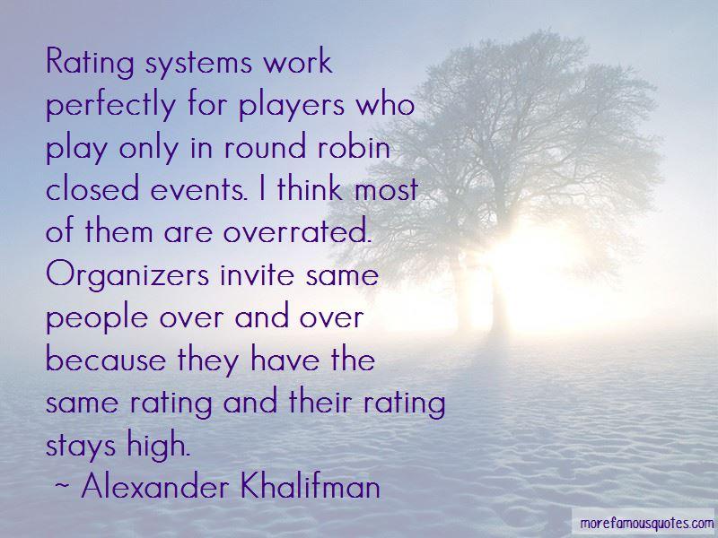 Alexander Khalifman Quotes Pictures 2