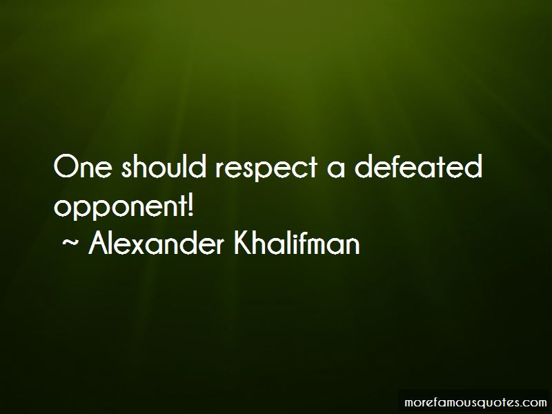 Alexander Khalifman Quotes Pictures 3