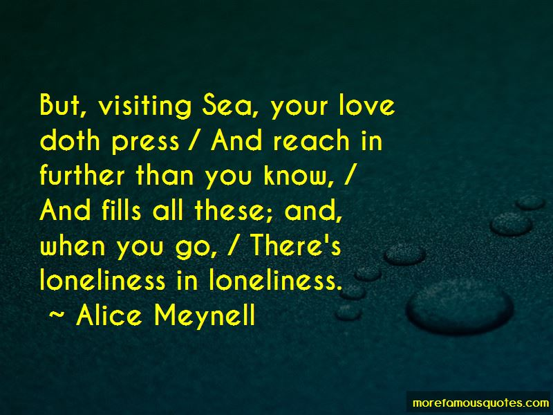 Alice Meynell Quotes Pictures 4