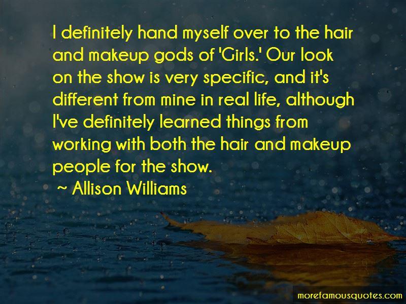 Allison Williams Quotes Pictures 2