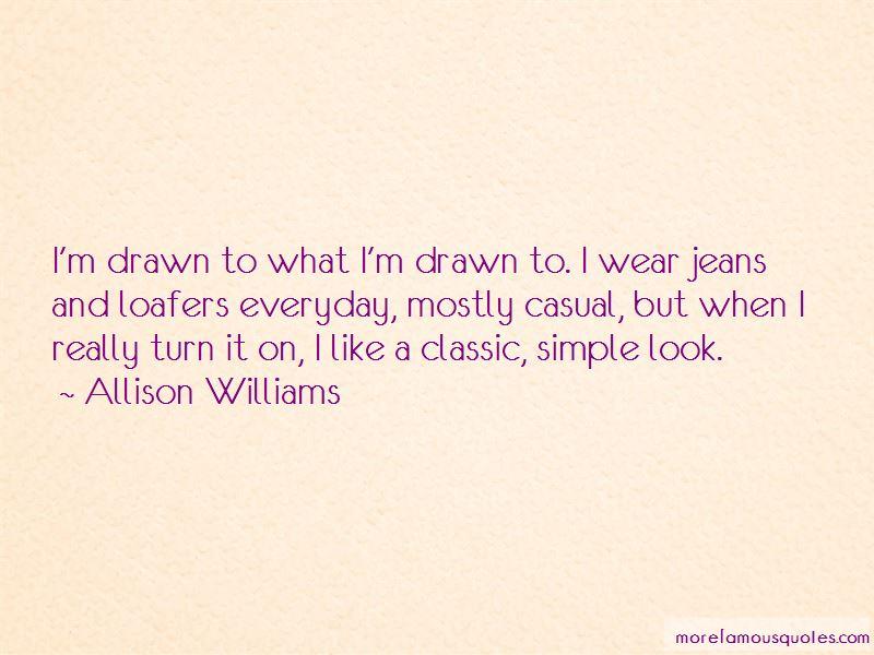 Allison Williams Quotes