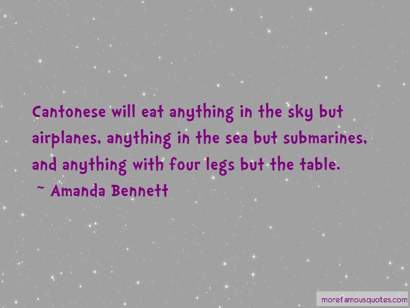 Amanda Bennett Quotes