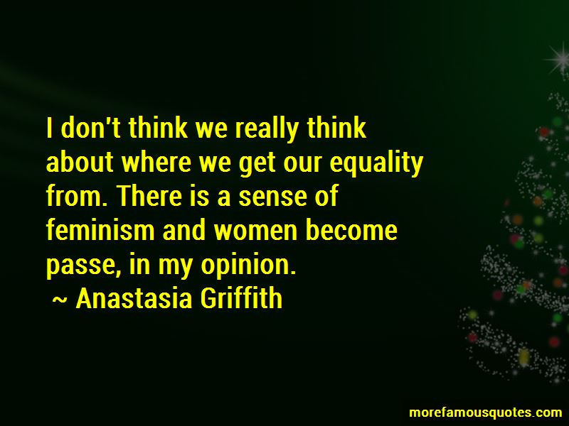 Anastasia Griffith Quotes Pictures 3