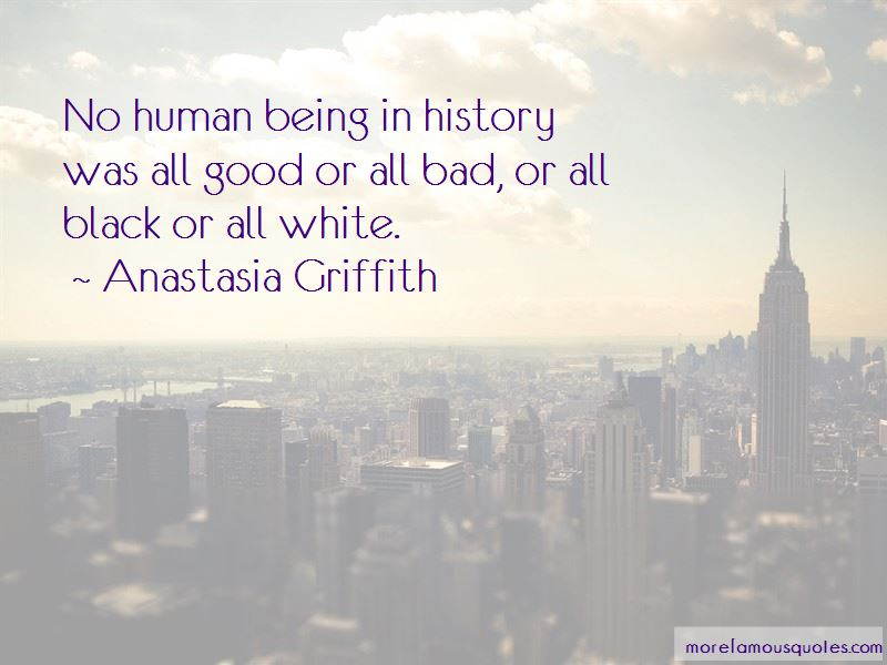 Anastasia Griffith Quotes
