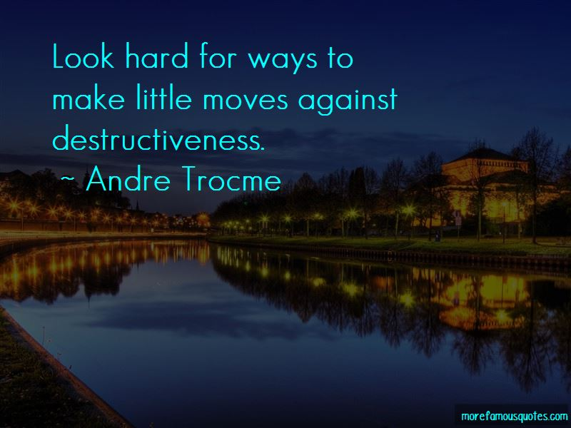 Andre Trocme Quotes Pictures 3