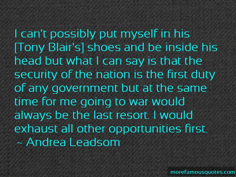 Andrea Leadsom Quotes Pictures 2