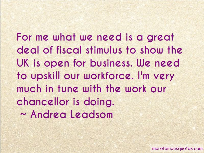 Andrea Leadsom Quotes Pictures 3