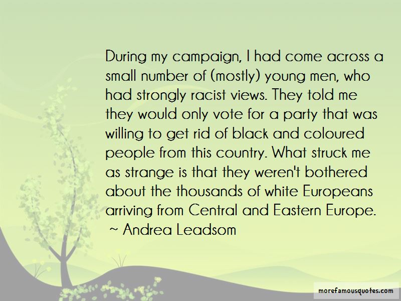Andrea Leadsom Quotes