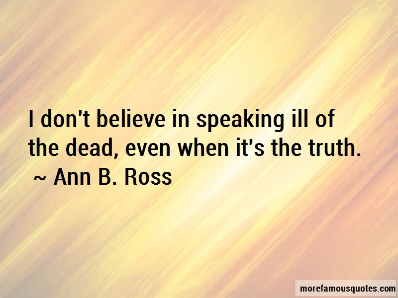 Ann B. Ross Quotes Pictures 3