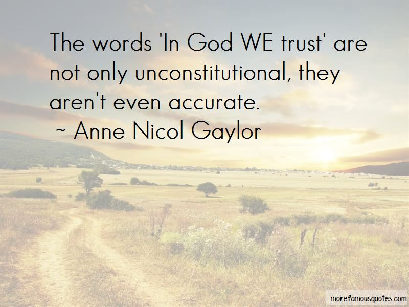 Anne Nicol Gaylor Quotes Pictures 2