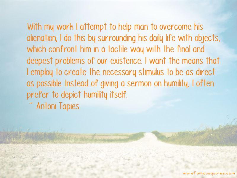 Antoni Tapies Quotes Pictures 2