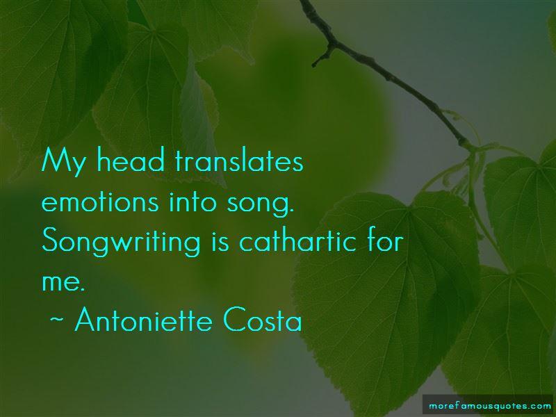 Antoniette Costa Quotes Pictures 4