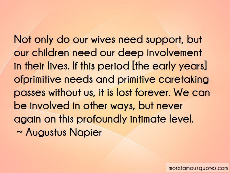 Augustus Napier Quotes