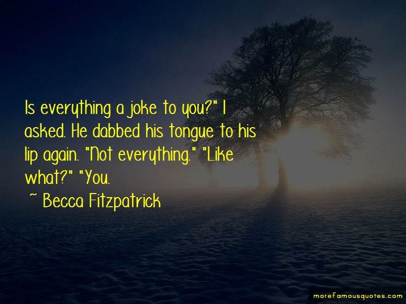 Becca Fitzpatrick Quotes Pictures 2