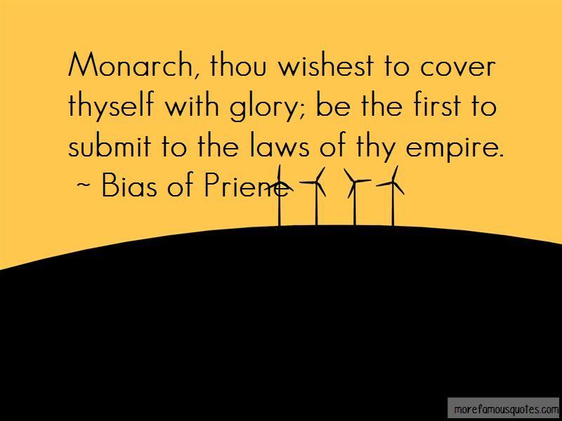 Bias Of Priene Quotes