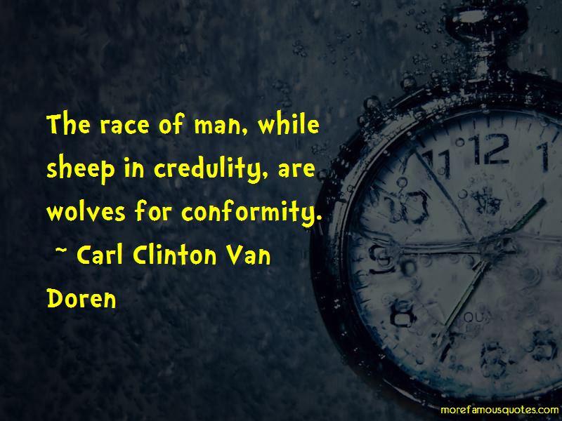 Carl Clinton Van Doren Quotes
