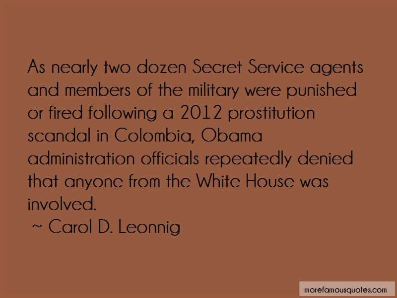 Carol D. Leonnig Quotes Pictures 2
