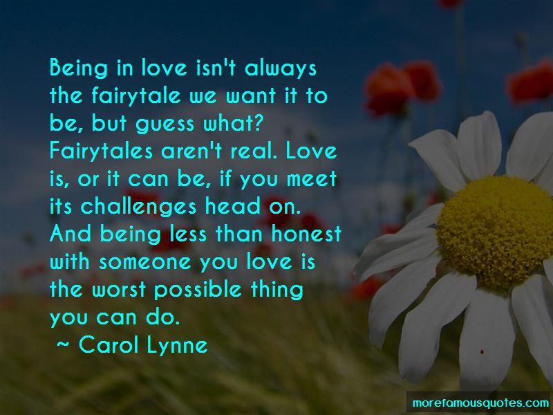Carol Lynne Quotes