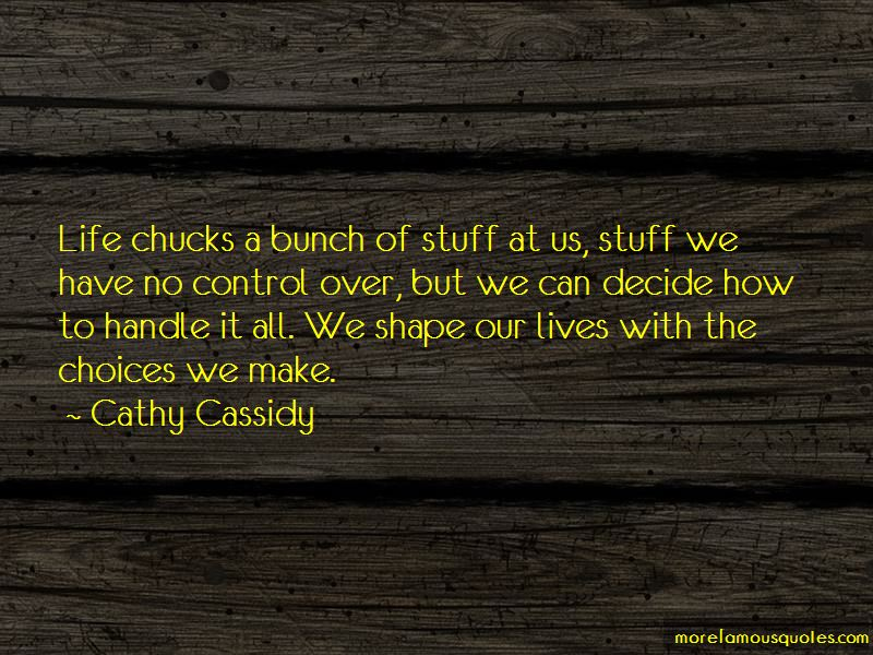 Cathy Cassidy Quotes