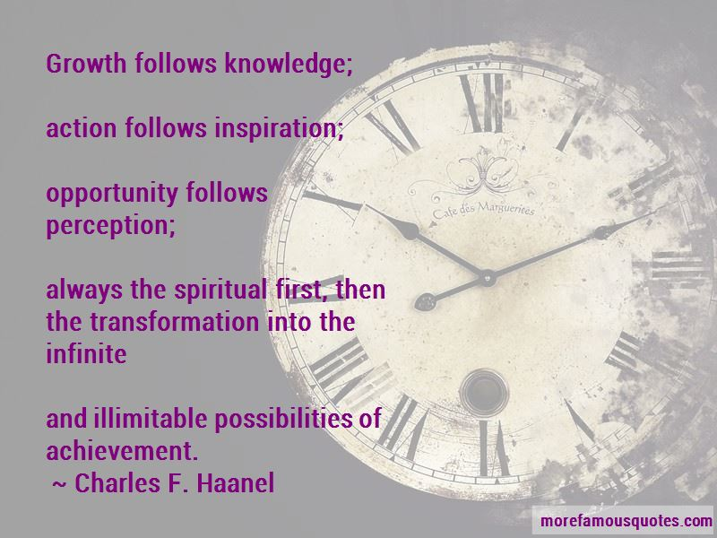 Charles F. Haanel Quotes Pictures 2