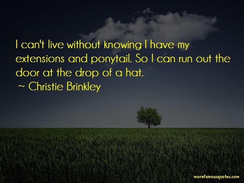Christie Brinkley Quotes