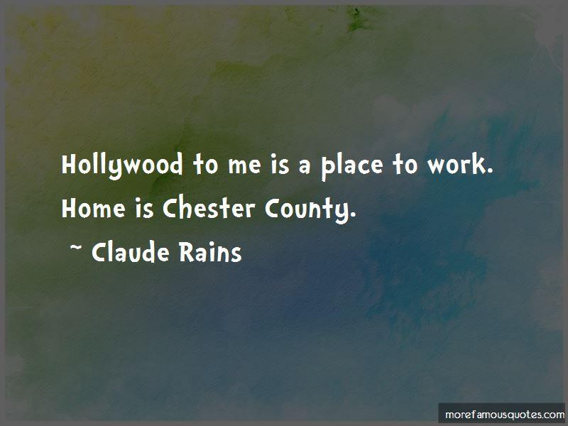 Claude Rains Quotes Pictures 2