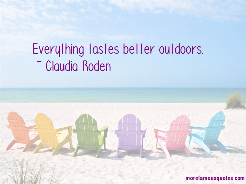 Claudia Roden Quotes Pictures 2