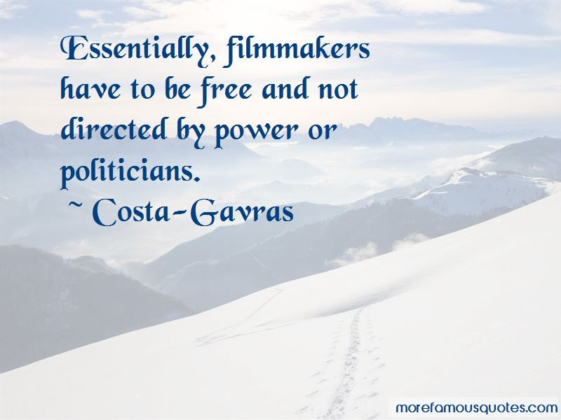 Costa-Gavras Quotes Pictures 2