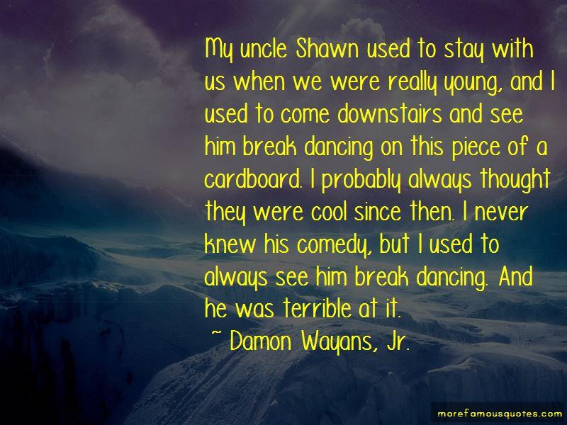 Damon Wayans, Jr. Quotes Pictures 4