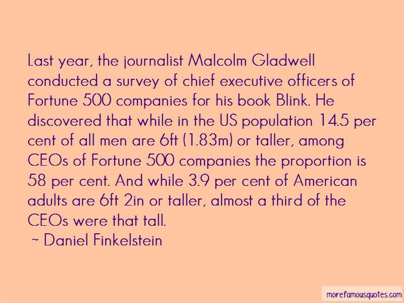 Daniel Finkelstein Quotes