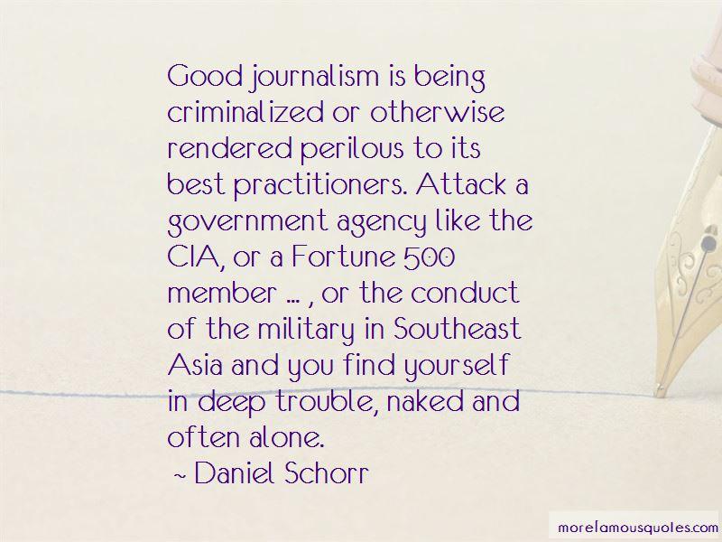 Daniel Schorr Quotes Pictures 4