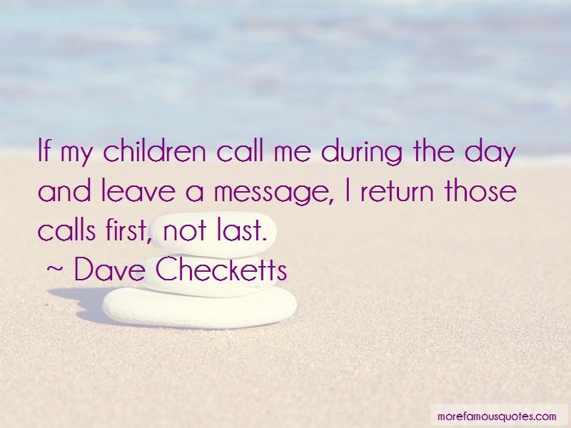 Dave Checketts Quotes