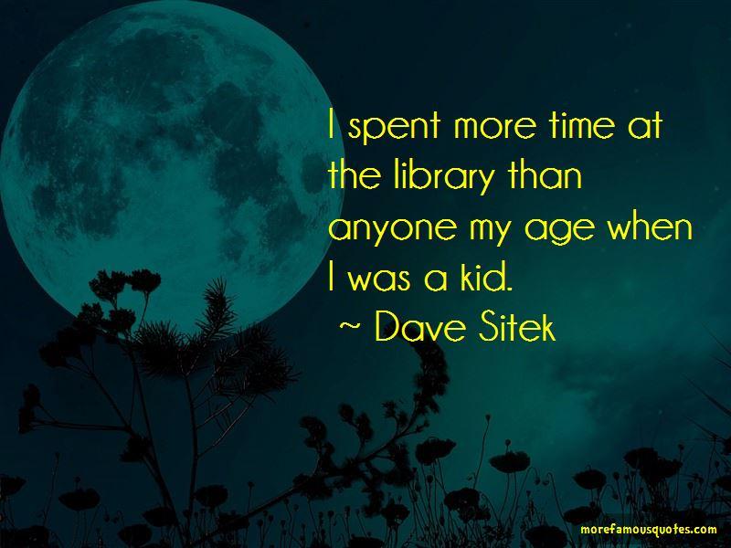 Dave Sitek Quotes