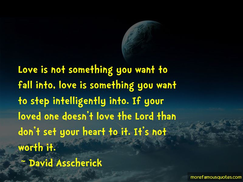 David Asscherick Quotes