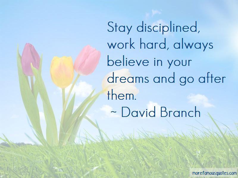 David Branch Quotes