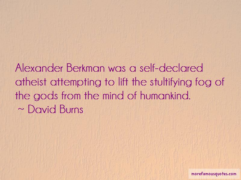 David Burns Quotes