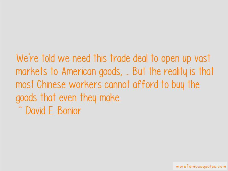 David E. Bonior Quotes
