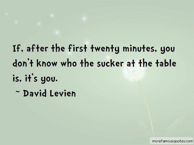 David Levien Quotes Pictures 2