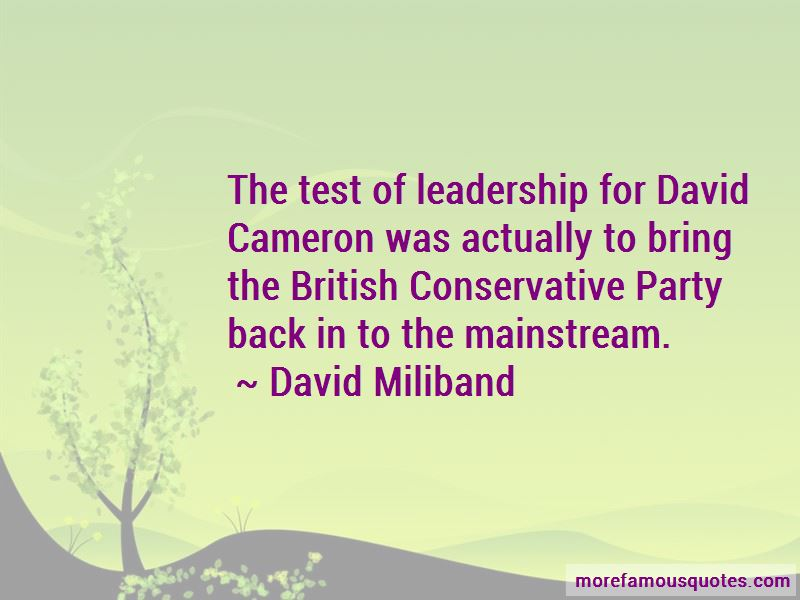 David Miliband Quotes Pictures 3