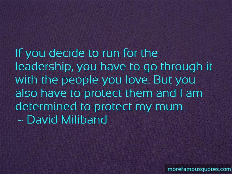 David Miliband Quotes