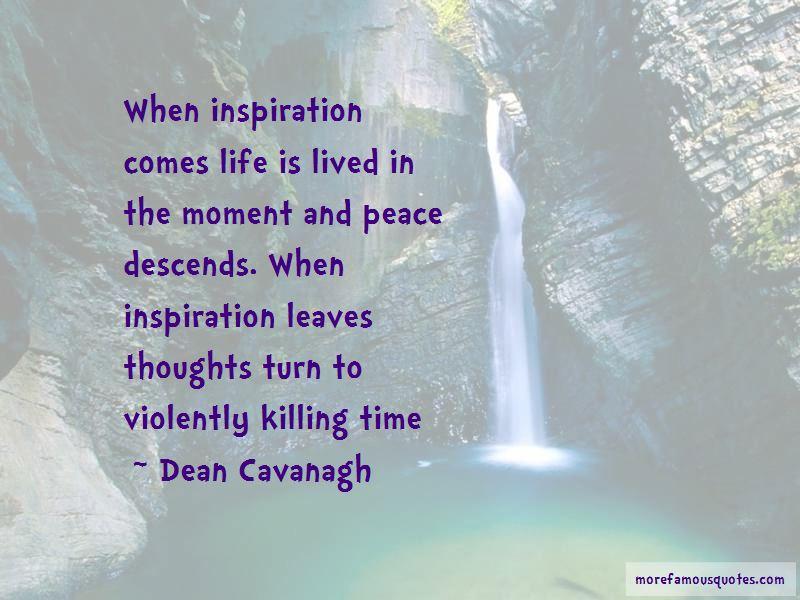 Dean Cavanagh Quotes