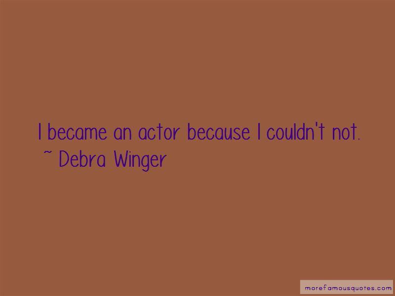 Debra Winger Quotes Pictures 2