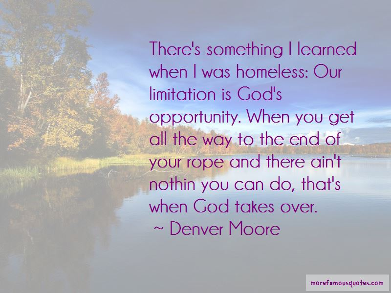 Denver Moore Quotes Pictures 3