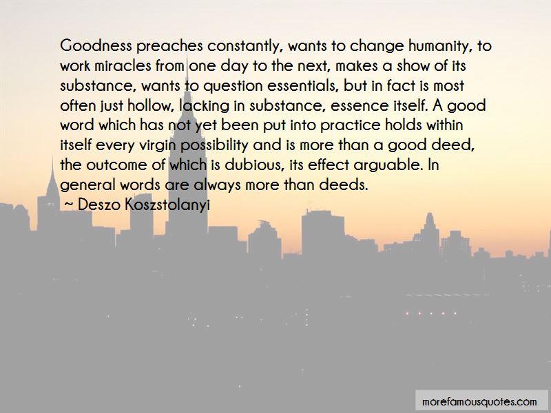 Deszo Koszstolanyi Quotes